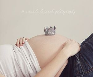 baby, girl, and crown image