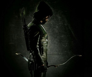 arrow, oliver queen, and green arrow image