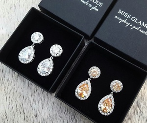 accessories, bling, and earrings image