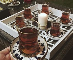 arabic, tea, and coffee image