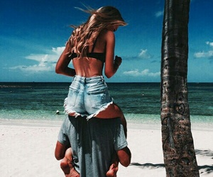 beach, goals, and love image