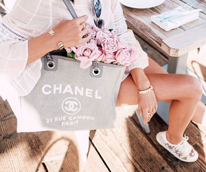 chanel, flowers, and spring image