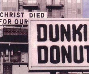 funny, donuts, and Christ image