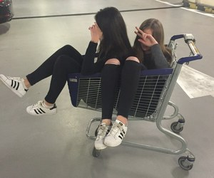 friends, adidas, and tumblr image