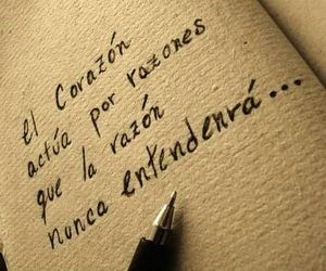 reason, corazon, and frases image