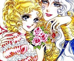 lady oscar, shoujo, and manga image