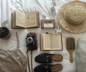 aesthetic, book, and summer image