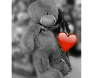 bear, gift, and hug image