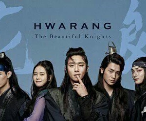 v, hwarang, and kdrama image