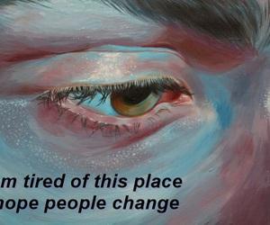 art, eyes, and life image