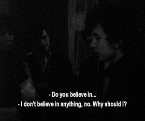 believe, bob dylan, and quote image