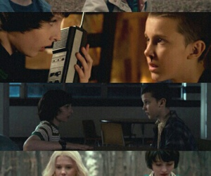 aesthetic, stranger things, and eleven image