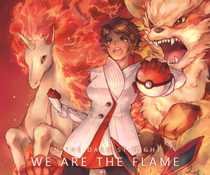 pokemon, pokemon go, and fire image
