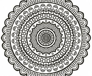 art, tribal, and mandalas image