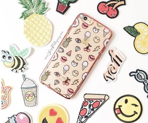 iphone, phone case, and parches image