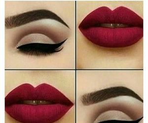 lipstick, make up, and makeup image