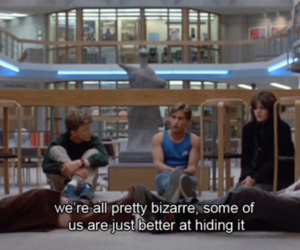 The Breakfast Club, gif, and quotes image