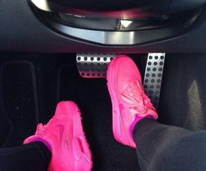 bright, nike, and pink image
