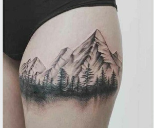 gory, mountain, and nature image