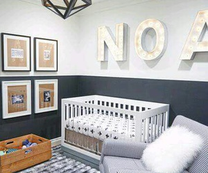baby room and nursery image