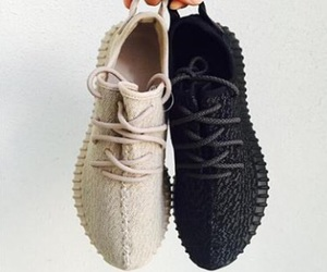 adidas, beige, and black image