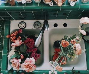 flowers, aesthetic, and vintage image