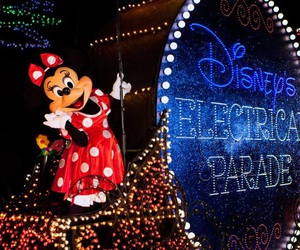 disney, disney world, and minnie mouse image