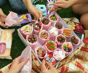 food, sweet, and friends image