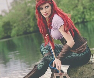 ariel, disney, and cosplay image