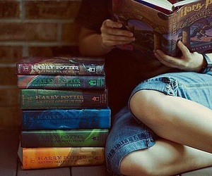 books, harrypotter, and mylove  image