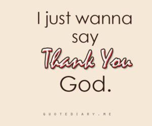 thank you, funny, and god image