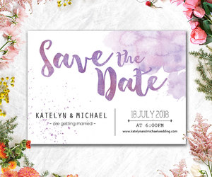 beach, invitation, and save the date image