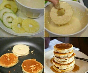 pancakes, diy, and food image