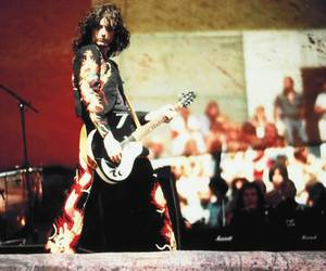 jimmy page, led zeppelin, and rock image