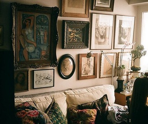 vintage, room, and home image