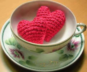 coffee, heart, and love image