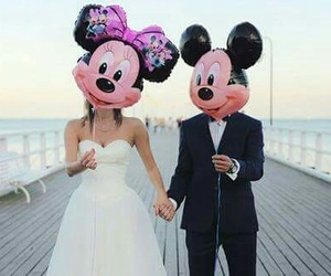 mikey, minnie, and love image