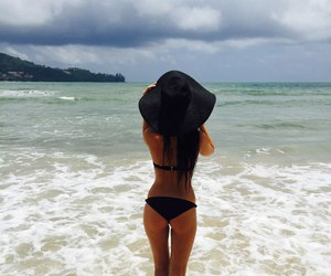 girl, hair, and paradise image