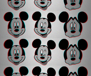 disney, mickey mouse, and black and white image