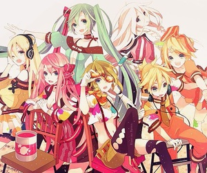 vocaloid, lily, and ia image