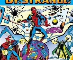 spider-man, dr. strange, and steve ditko image