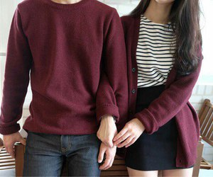 clothes and couple image