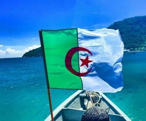 Algeria, beautiful, and flag image