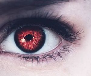 eyes, fantastic, and red image