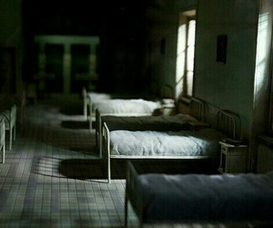 abandoned, asylum, and hotel image