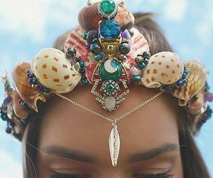 beauty, jewerly, and hair image