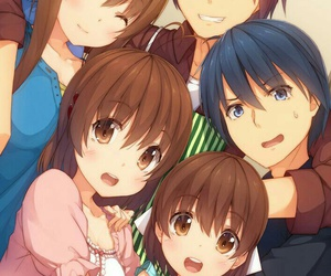 anime, clannad, and family image