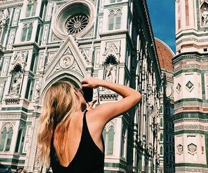 travel, adventure, and florence image