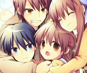anime, rin, and tomoya okazaki image