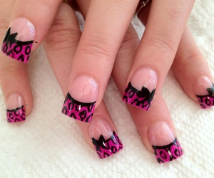 animal print and nails art image